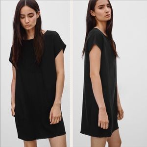 ARITZIA / WILFRED FREE / BLACK NORI DRESS